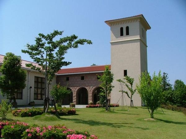 浜田市立石正美術館の外観の画像
