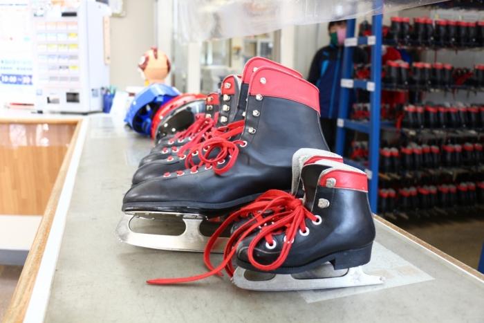 サン・ビレッジ浜田 貸スケート靴