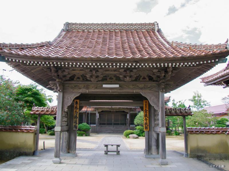 石見国分寺跡[金蔵寺](国指定文化財)