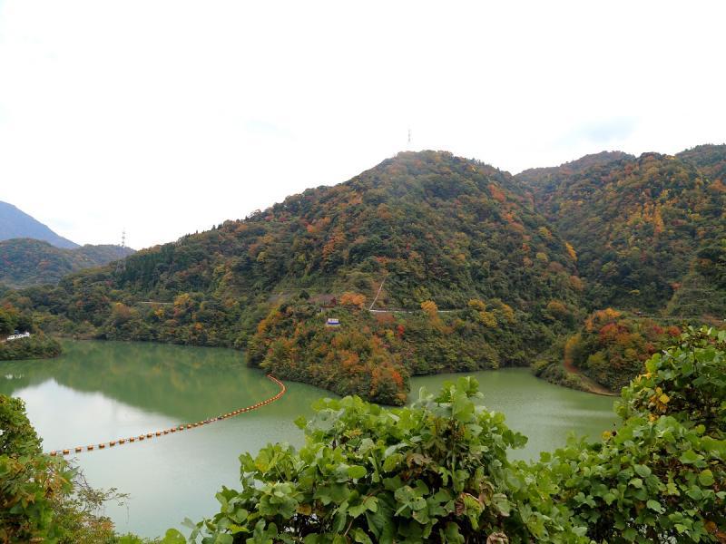 大長見ダム(紅葉湖)