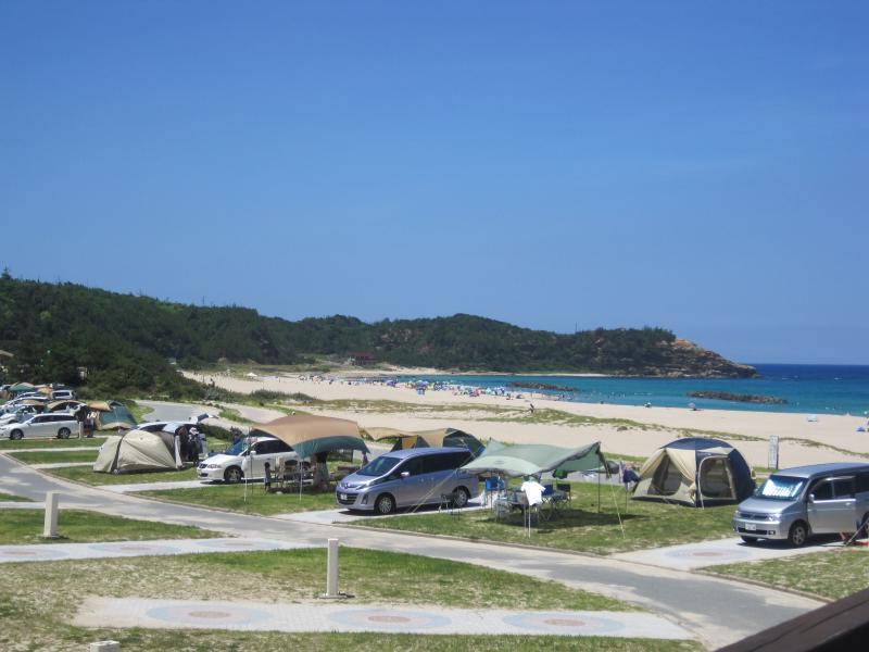 島根県立石見海浜公園オートキャンプ場・ケビン村
