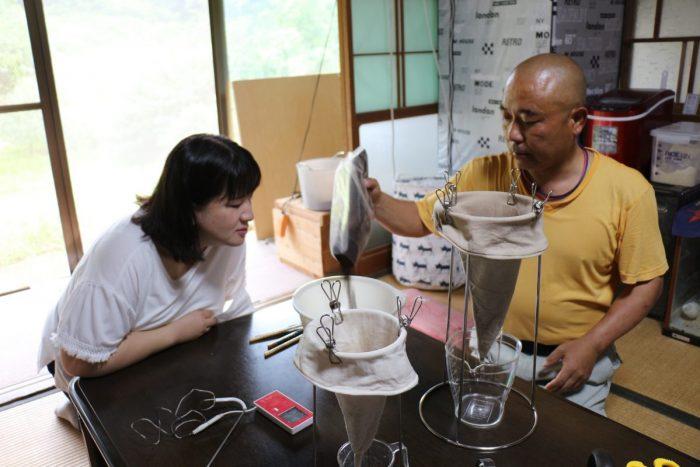 ワンにゃんべぇハウス大江屋ヨシタケコーヒー体験
