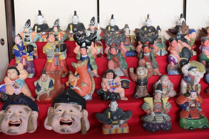 石州神楽堂の長浜人形